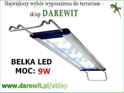 Belka LED 9 Watt akwarium terrarium