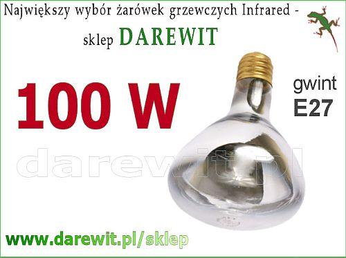 żarówka promiennik podczerwieni 100W - sklep darewit