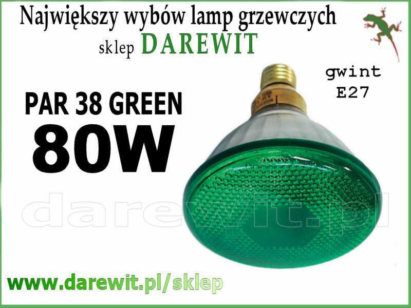 zielony PAR 30 Osram 80W - sklep Darewit