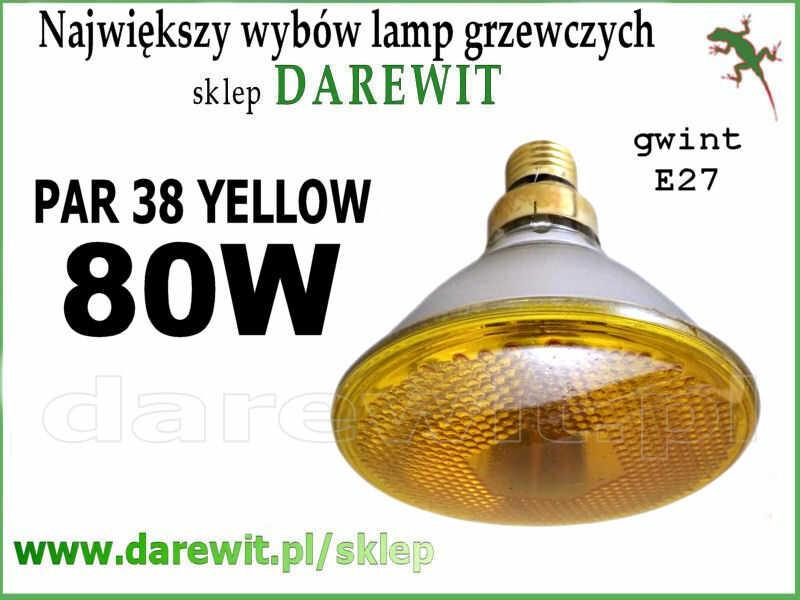 żólta żarówka do lamp Solux - darewit