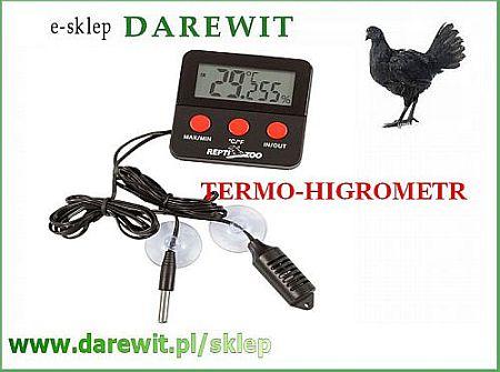 cyfrowy termometr z higrometrem